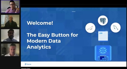 The Easy Button for Modern Data Analytics