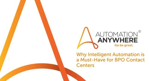 Bots for BPO: Why Intelligent Automation Is a Must-Have