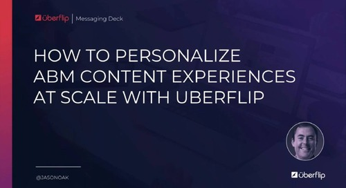 Don't Sweat It! How to Create Personalized Content Experiences for Your ABM Programs at Scale