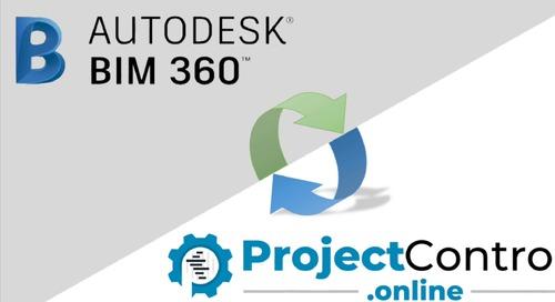 ProjectControls.online and BIM 360 Integration