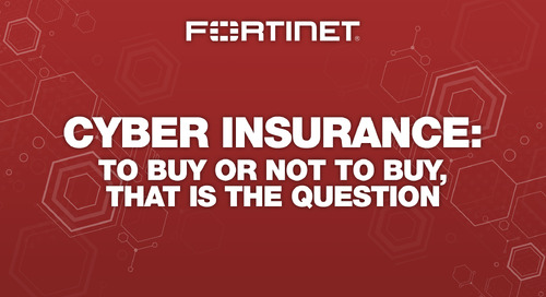 CyberInsurance: To buy or not to buy, that is the question.