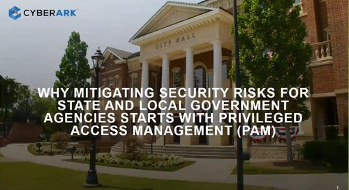 Mitigating Security Risks with State and Local Government Agencies