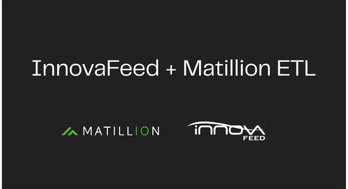 Individual Case Study | Innovafeed | Matillion ETL