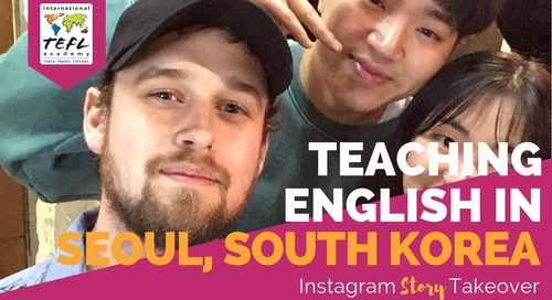 Day in the Life Teaching English in Seoul, South Korea with Patrick Slattery
