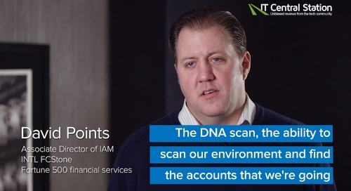 CyberArk DNA in a Fortune 500 Company