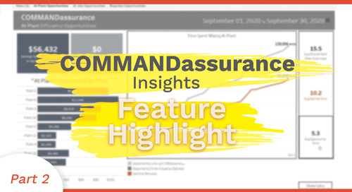 At Plant Efficiency Opportunity | COMMANDassurance Feature Highlight