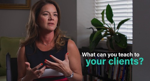 What are you going to teach your buyer?  - Sydney Sloan, CMO of Salesloft