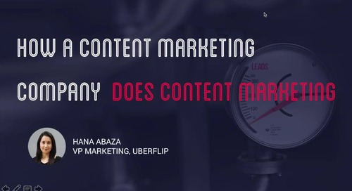 How Does a Content Marketing Company Do Content Marketing?