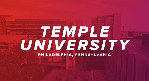 Temple University and Canvas