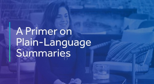 How to Write Plain-Language Summaries