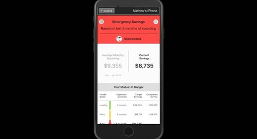 Envestnet Yodlee AI Fincheck Product Launch Demo