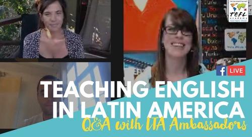 Teach English in Latin America With Kathleen & Scott