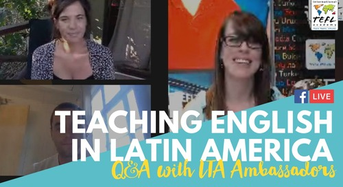 Teach English in Latin America Q&A With Kathleen & Scott - Chile & Costa Rica