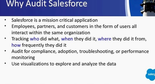 Data Protection for Salesforce Webinar