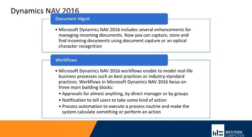 Evolution of Dynamics NAV to Dynamics 365 Business Central