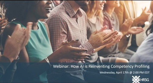 HRSG Webinar: How AI is Reinventing Competency Profiling