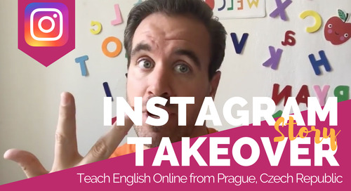Day in the Life Teaching English Online & Private Lessons in Prague, Czech Republic with Ryan Cook