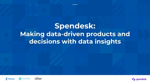Making Data Driven Products and Decisions with Data Insights