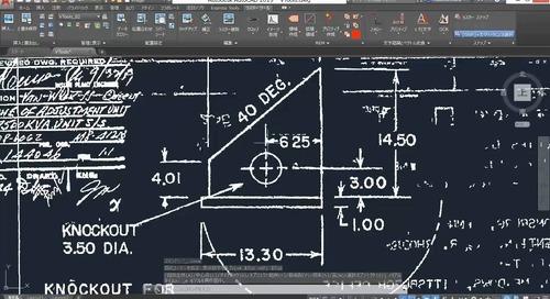 [AutoCAD] - Raster Design ツールセット