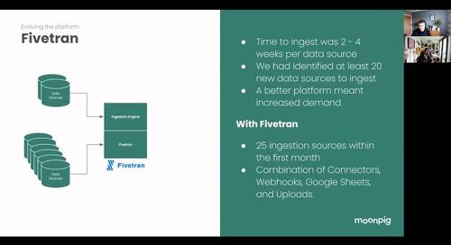 Building and Running a Lean Data Platform - Moonpig
