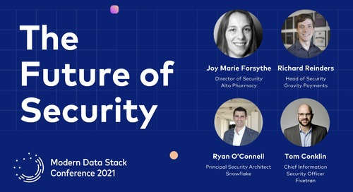 The Future of Security for the Modern Data Stack