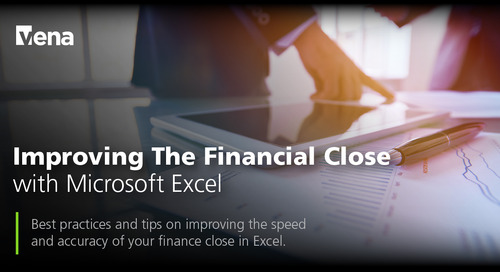 Improving The Financial Close with Microsoft Excel