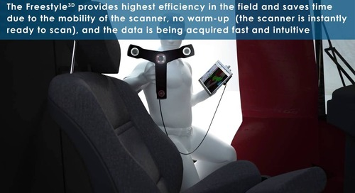 FARO Freestyle 3D Handheld Laser Scanner for accident reconstruction