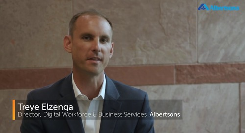 Automation Saves 30,0000 Hours for Albertsons' Shared Services Department