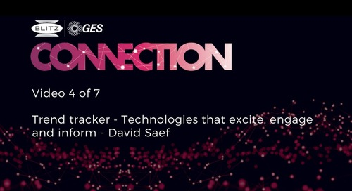 04 - Trend tracker - Technologies that excite, engage and inform - David Saef