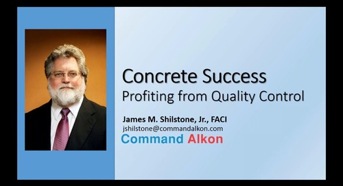 #1 - Concrete Success: Profiting from Quality Control