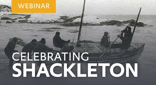 """Learn about our """"Celebrating Shackleton"""" Voyage with explorer Tim Jarvis"""