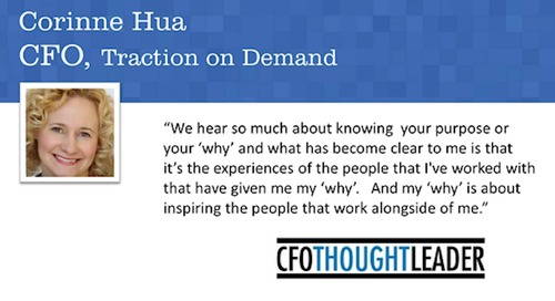Legacy of a Chief Story Officer | Corinne Hua, CFO, Traction on Demand