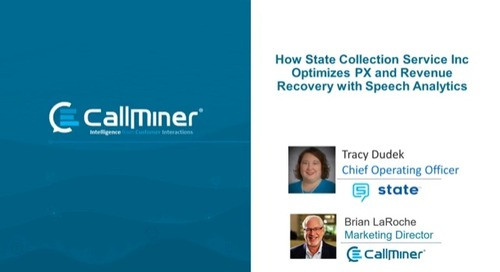 How State Collection Services Optimizes Patient Experience and Revenue Recovery with Speech Analytics