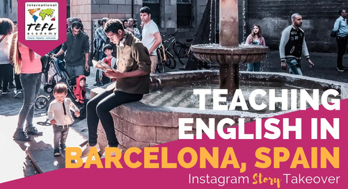 Day in the Life Teaching English in Barcelona, Spain with Allen Tunstall (Short)