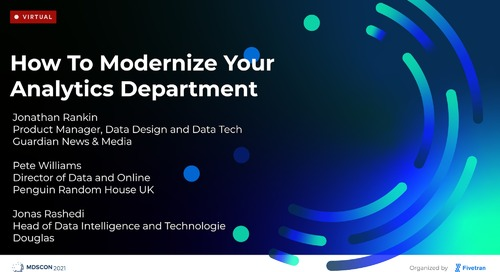 How to Modernize Your Analytics Department