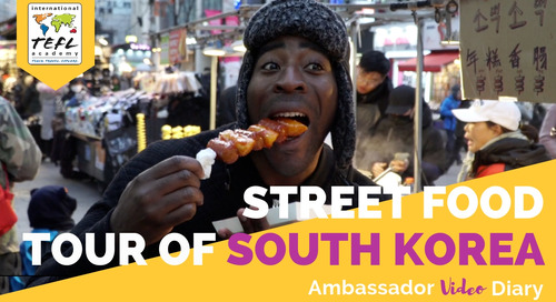 Street Food Tour of South Korea with Tim Unaegbu