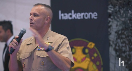 Major General Glavy - The Importance of Cybersecurity and Hacker-Powered Security at h1-702