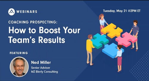 Coaching Prospecting: How to Boost Your Team's Results