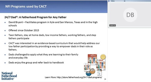 [Webinar On-Demand] Father Engagement in Community Action Agencies