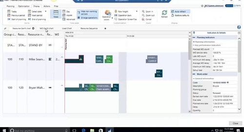 Production Scheduler for Manufacturing for Microsoft Dynamics NAV