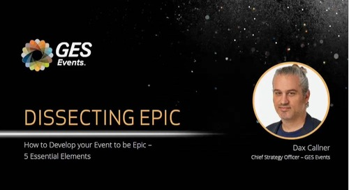 Webinar: How to Develop Your Event to be EPIC