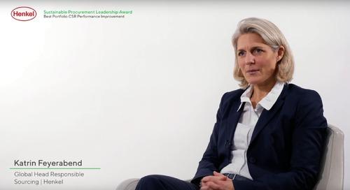 Henkel, un des 6 membres fondateurs de l'initiative achats responsables secteur chimie TfS