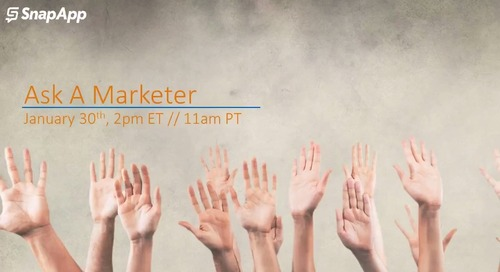 Ask A Marketer Roundtable Discussion