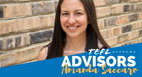 International TEFL Academy Advisor - Amanda Saccaro