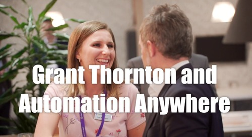 Automation Anywhere Impact Event with Grant Thornton UK