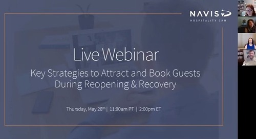 Key Strategies to Attract and Book Guests During Reopening & Recovery