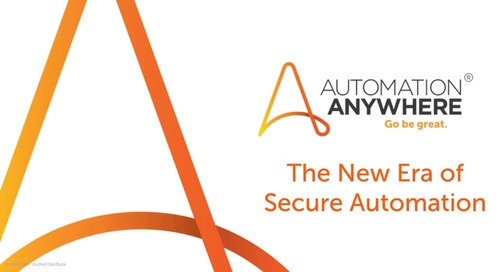 The New Era of Secure Automation