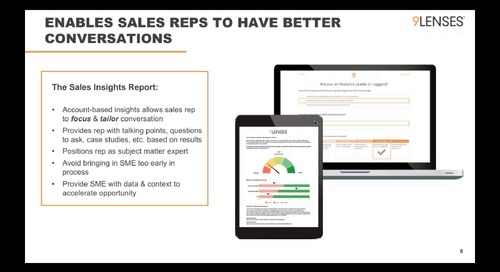 Webinar: Create an Unfair Advantage: Better Opps. Shorter Sales Cycle. Increased win rate.