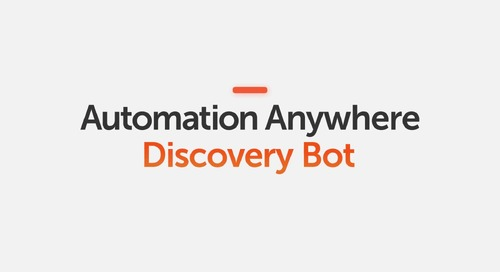 Automation Anywhere Discovery Bot