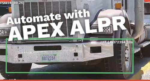 APEX - License Plate Recognition